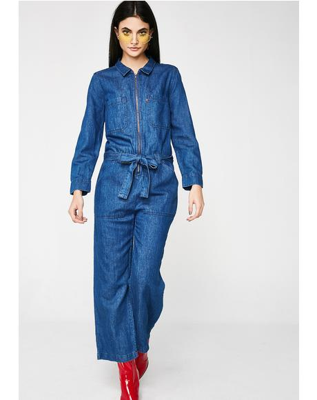 Medium Authentic Alix Jumpsuit
