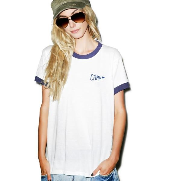 Camp Collection Camp Staff Ringer Tee