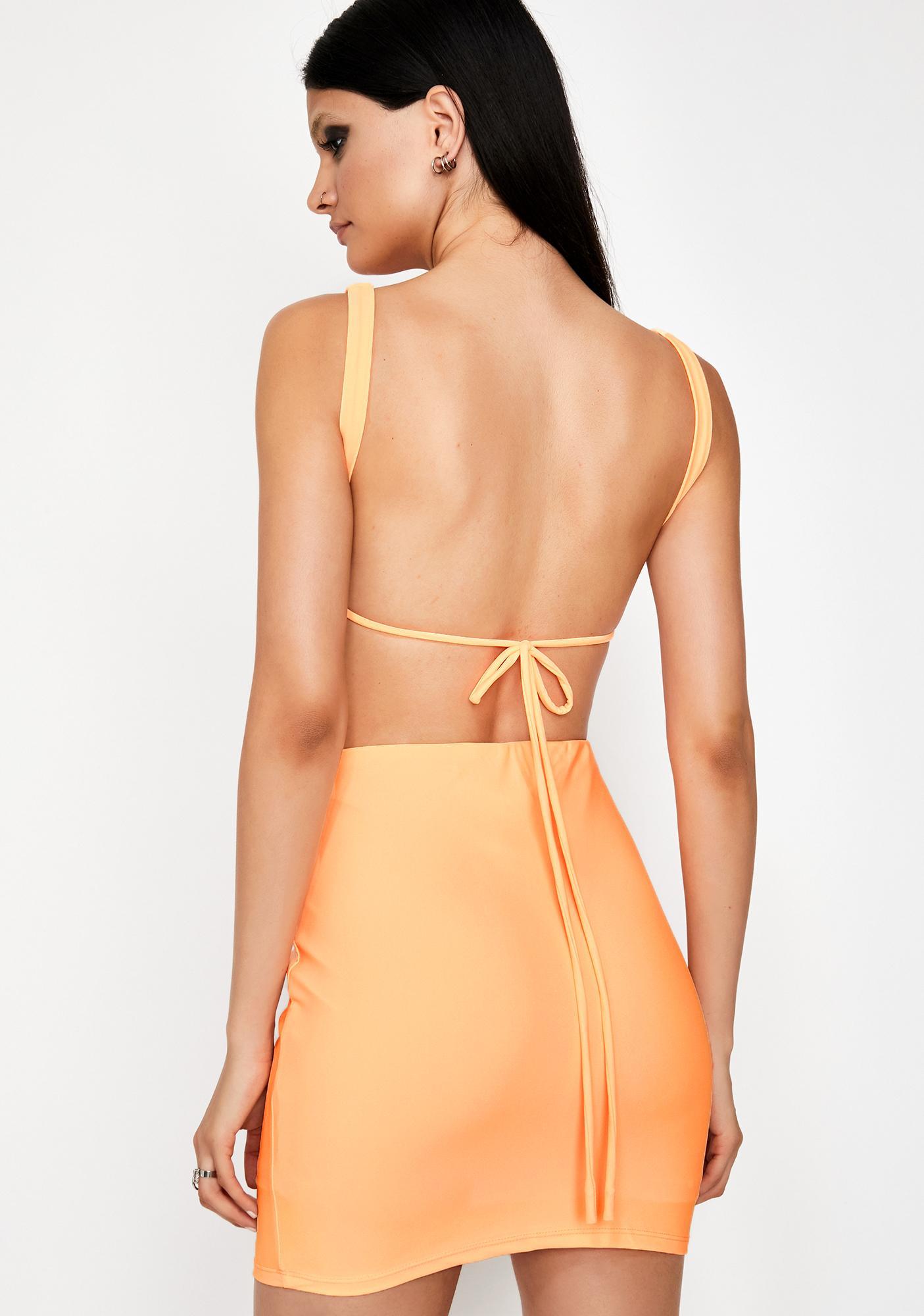 Apricot Queen Sass Skirt Set