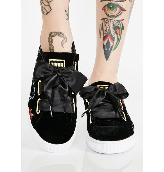 PUMA Dark Basket Heart Hyper Sneakers