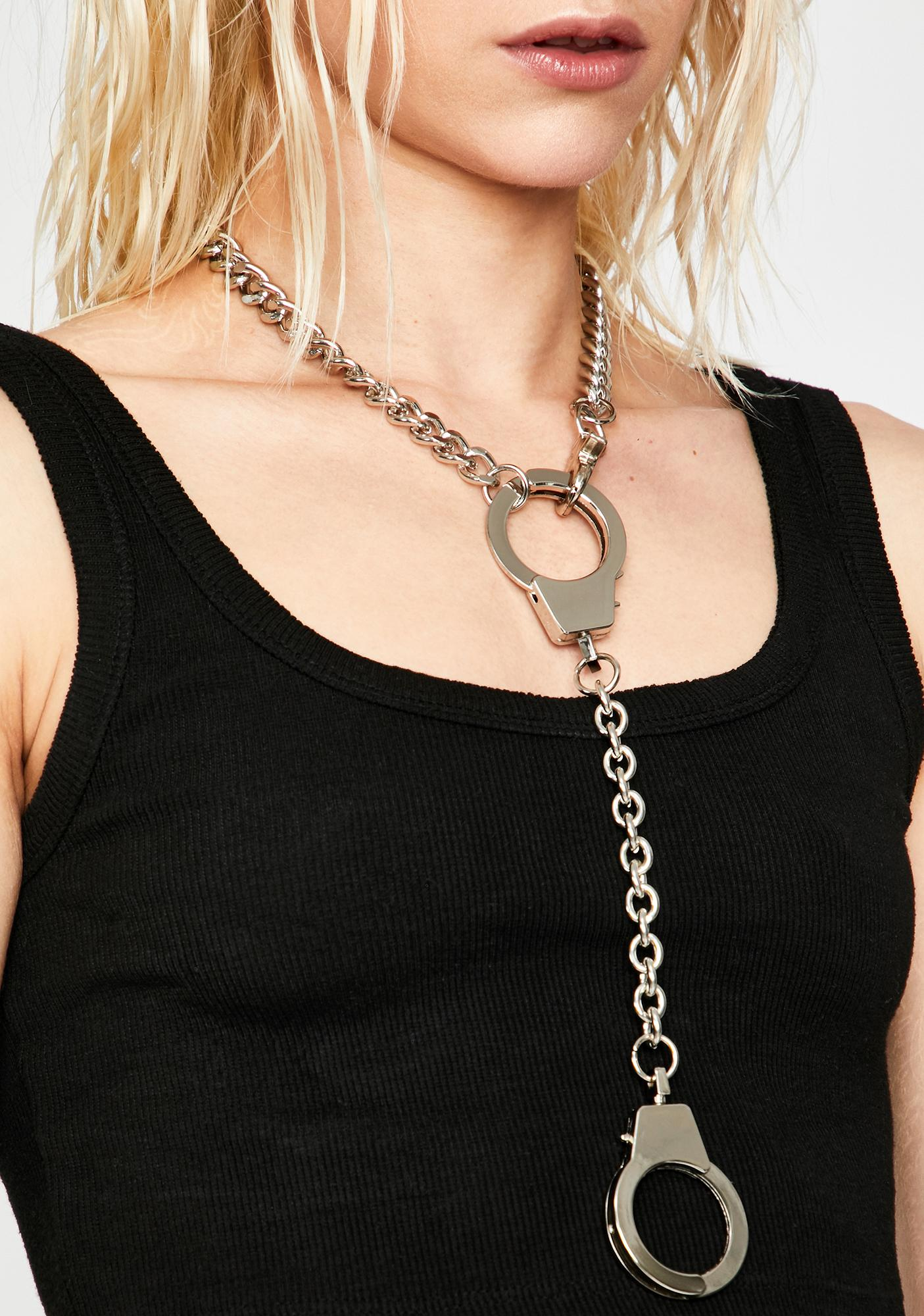 Used Against U Chain Necklace