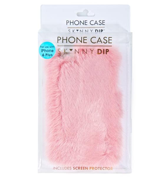 Skinnydip Candy Fur iPhone Case