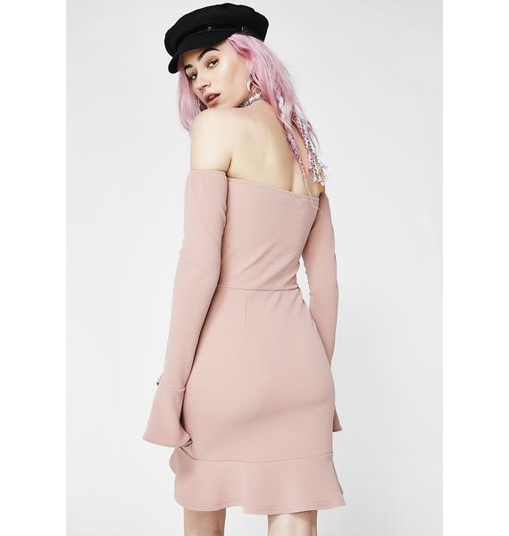 Keep Em' Guessing Wrap Dress