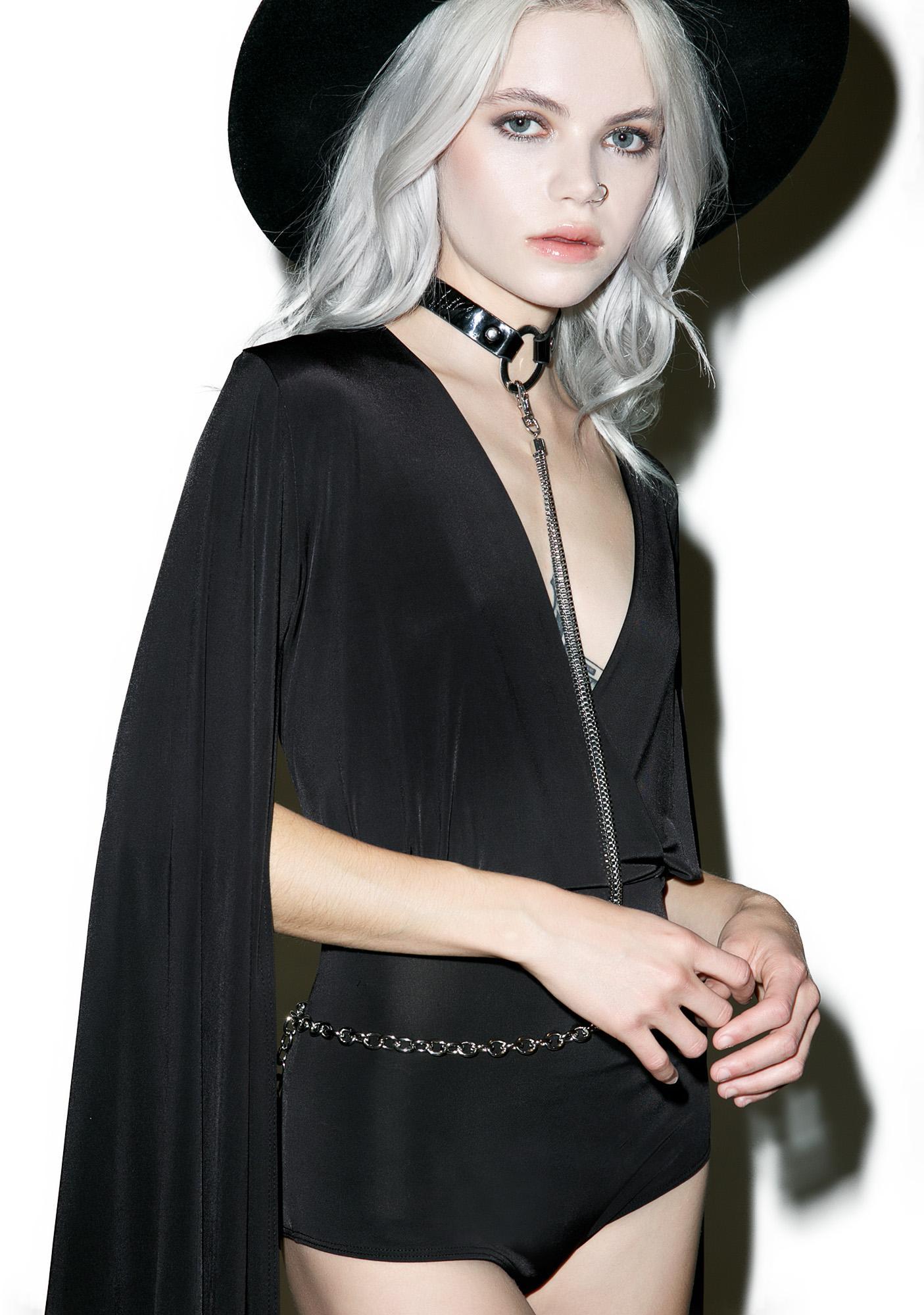 Vampira Bodysuit