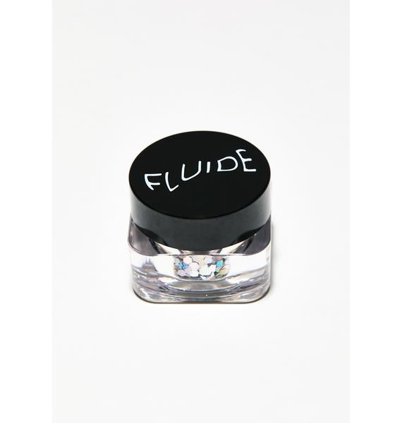 Fluide Silver Hex Glitter
