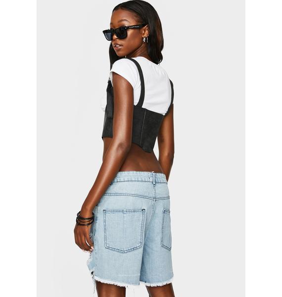 Kiki Riki Always On Trend Denim Shorts