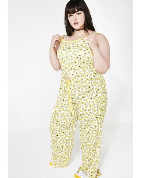 Always Happy Livin' Pajama Set