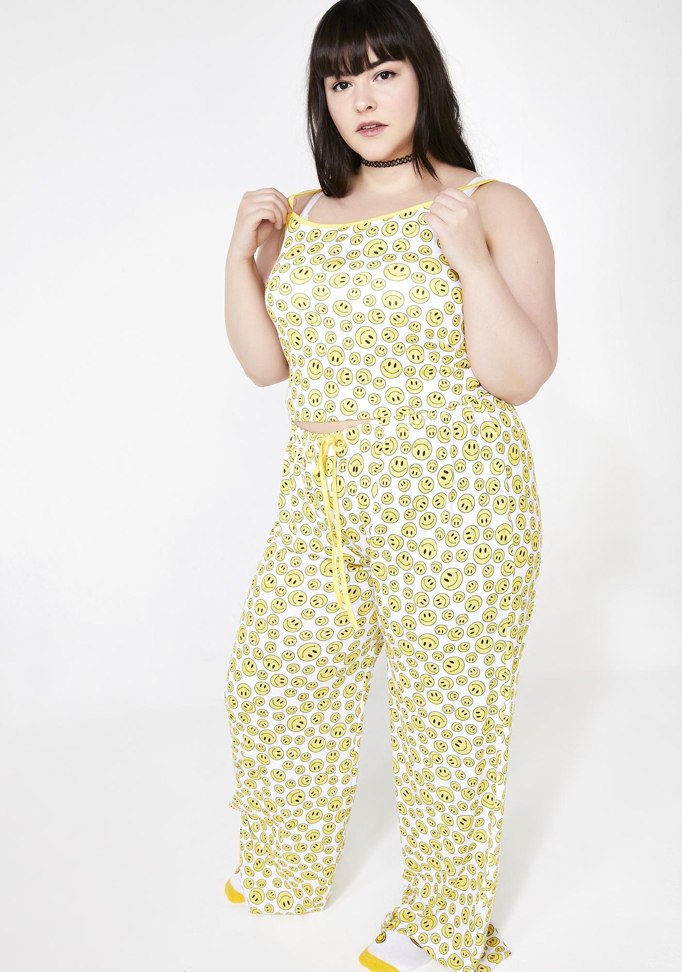 dELiA*s by Dolls Kill Always Happy Livin' Pajama Set