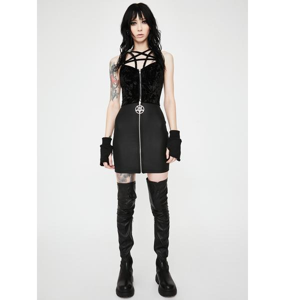 Killstar Lost In Sin Zip Top