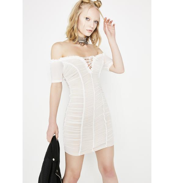 Single Again Ruched Dress