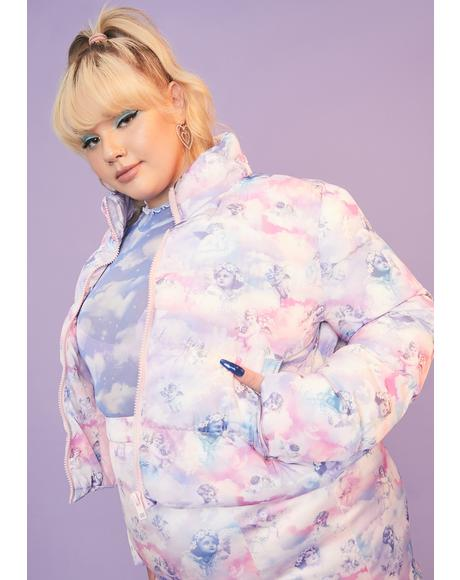 She's On Cloud Nine Puffer Jacket