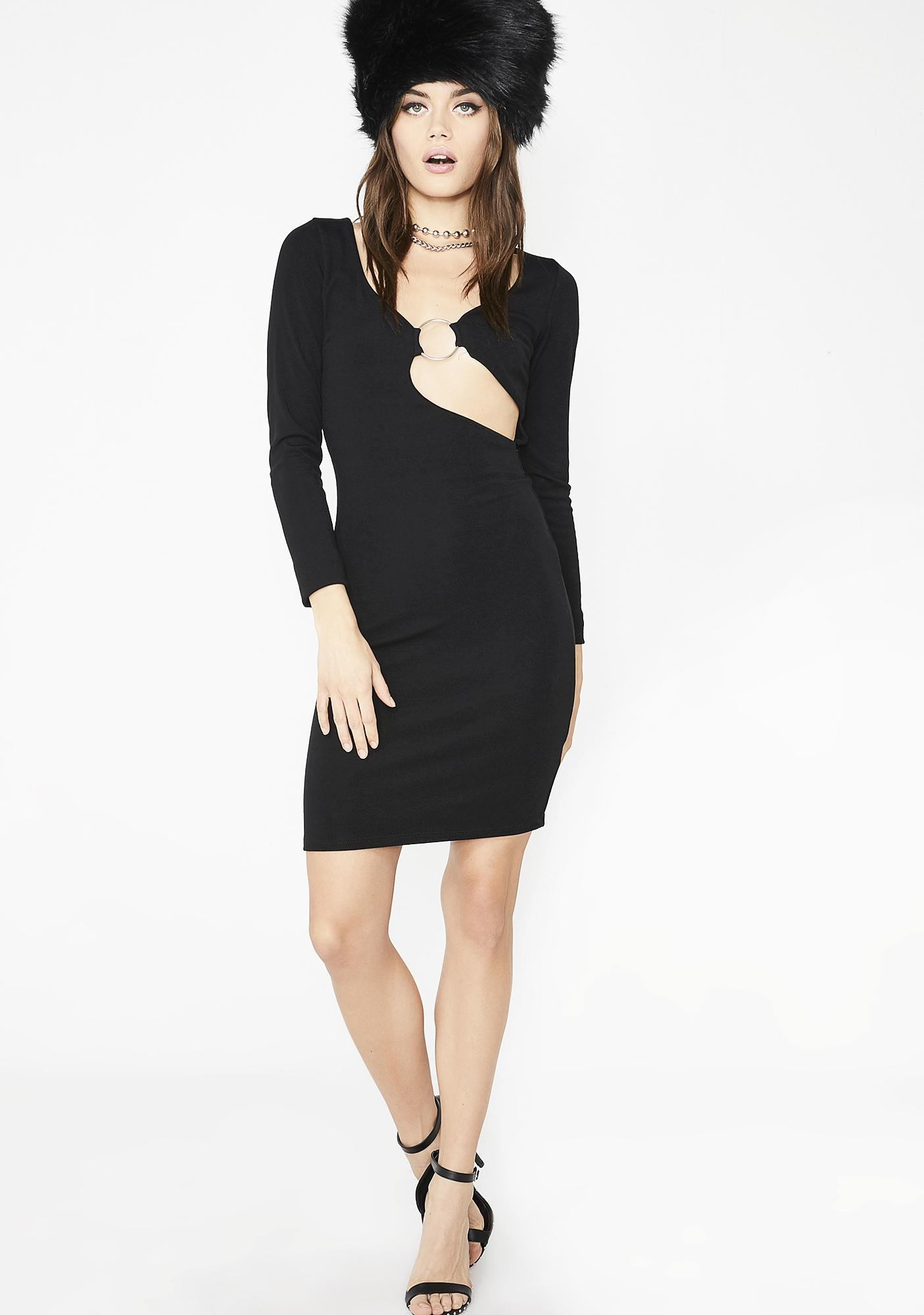 Jealous Much O-Ring Dress