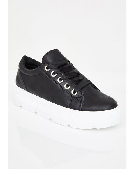 Step To It Platform Sneakers