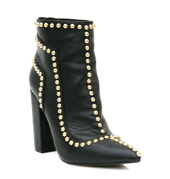 Privileged Jet Joss Studded Bootie