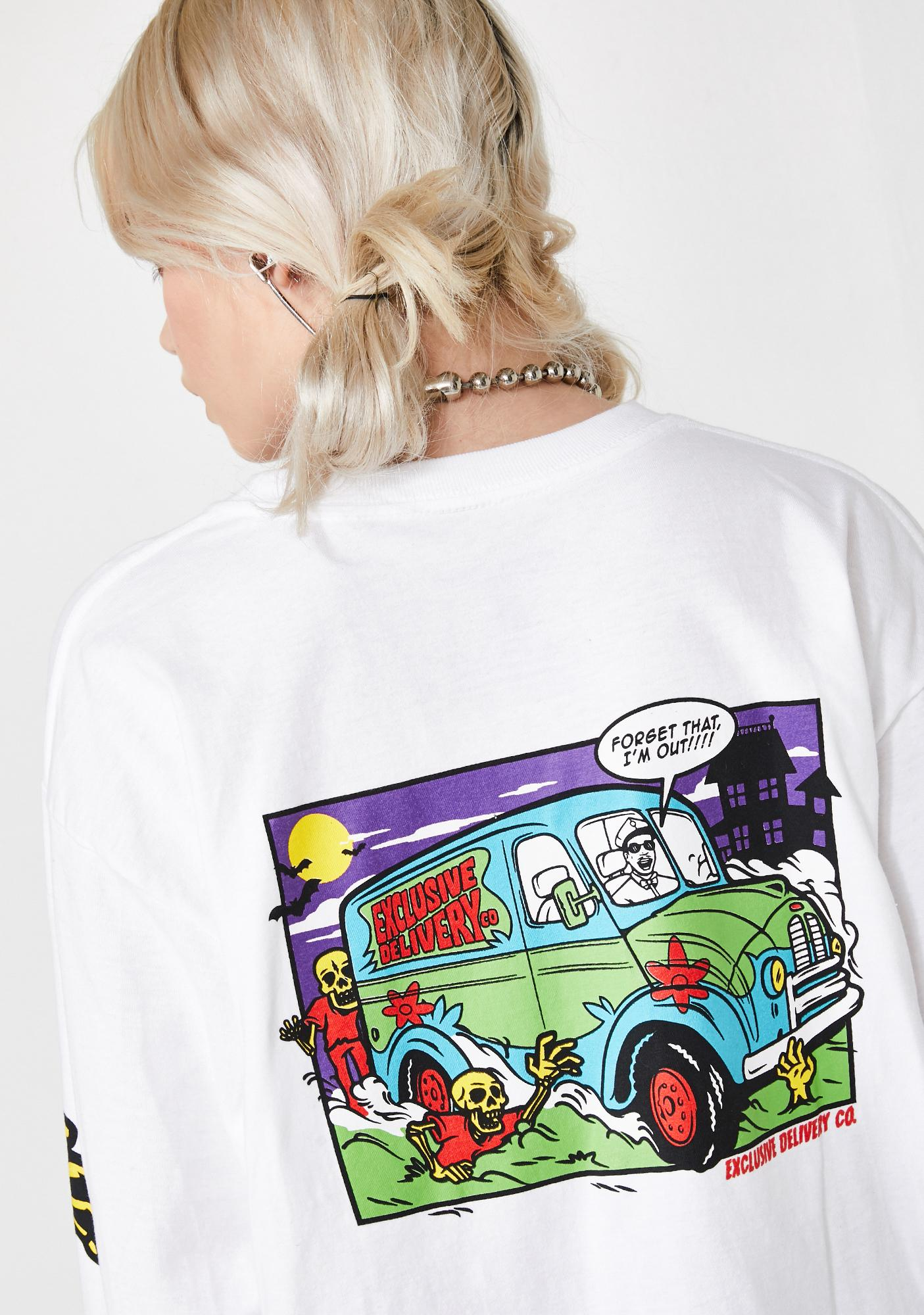 EXCLUSIVE DELIVERY CO. I'm Out Long Sleeve Tee