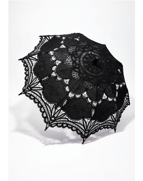 Unhappy Thoughts Parasol