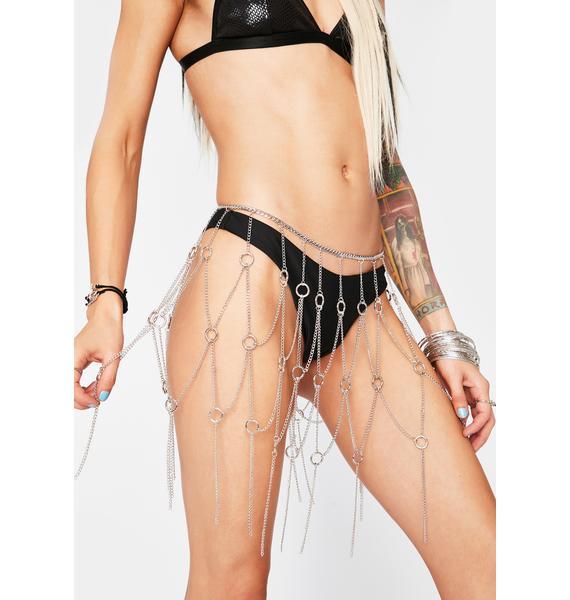 Buckwild Babe Chain Skirt