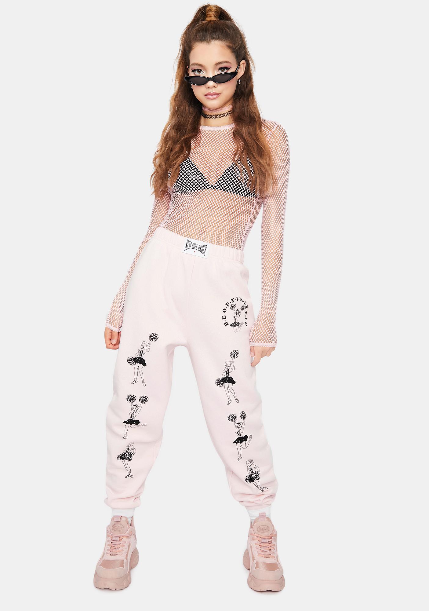 NEW GIRL ORDER Cheer Jogger Sweatpants