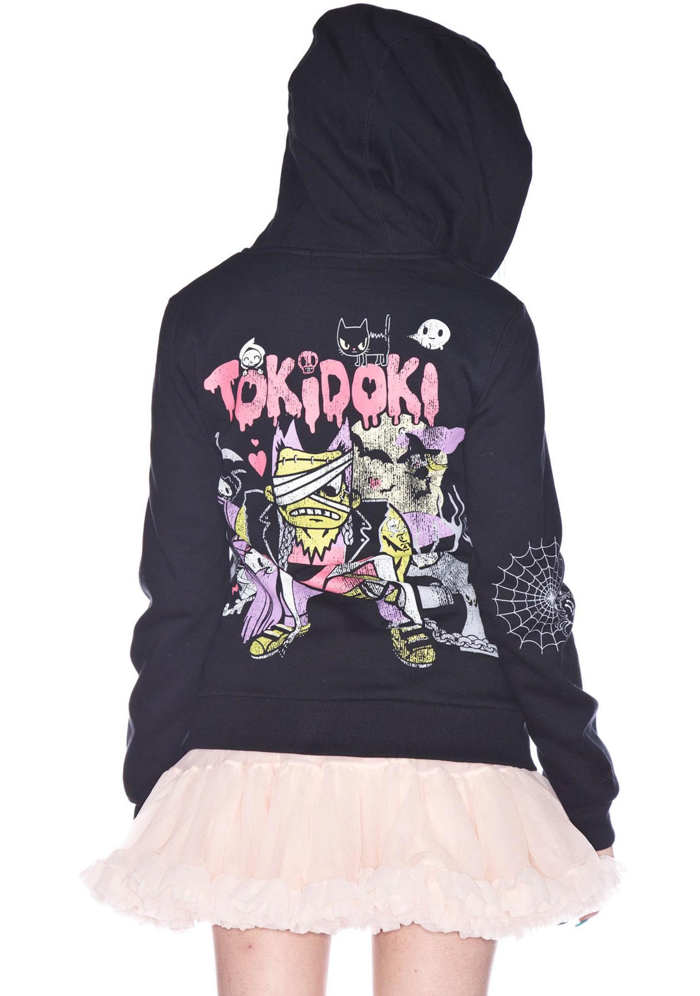 Tokidoki Afraid of the Dark Zip Hoodie