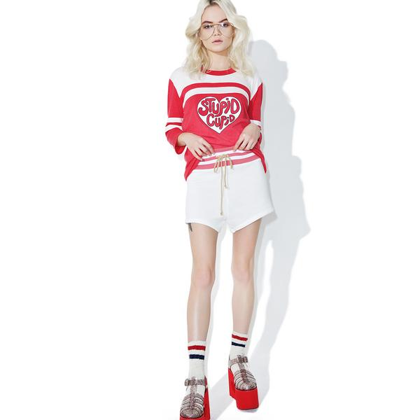 Camp Collection Angel Varsity Shorts