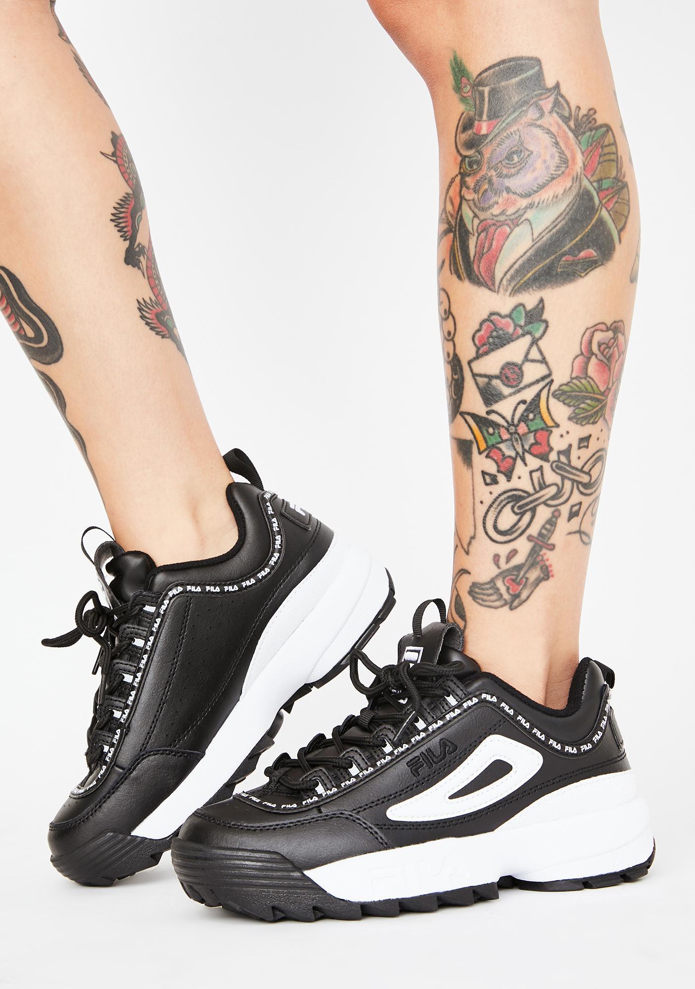 Fila Disruptor 2 Premium Repeat Sneakers