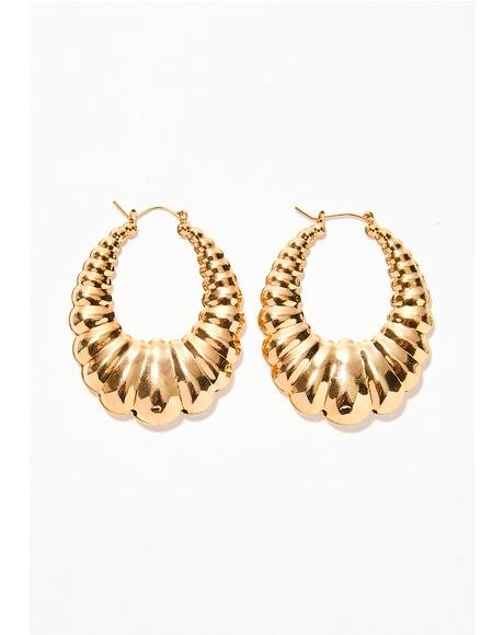 Losin' Control Chunky Earrings