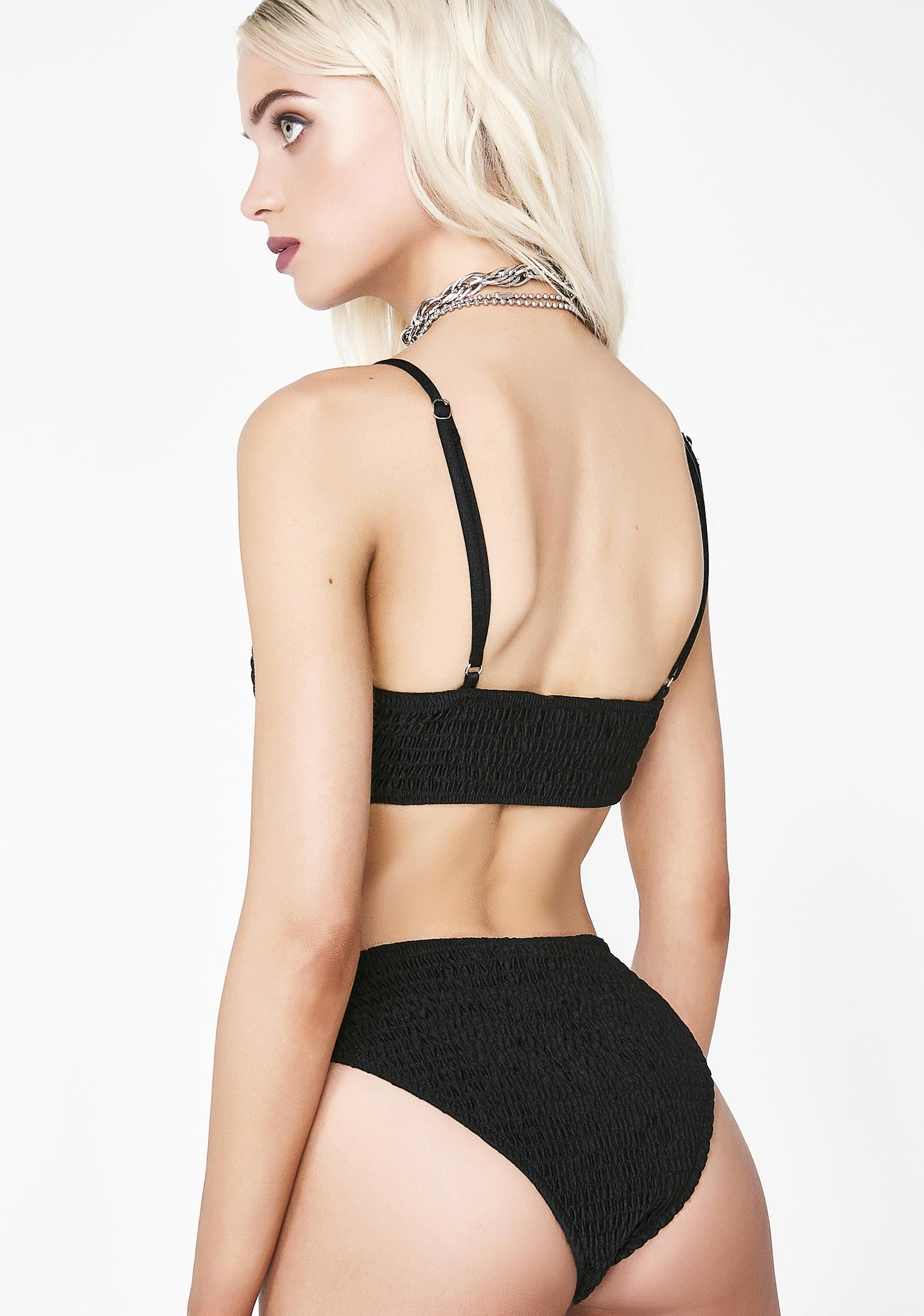 Lady Raven Ribbed Bikini Set