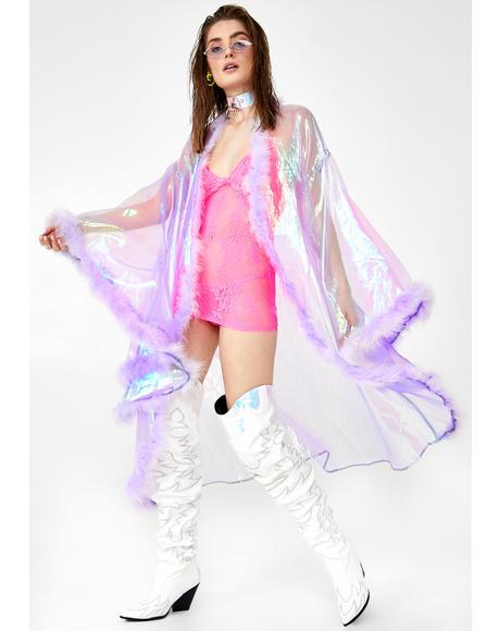 Lilac Fairytale Kimono