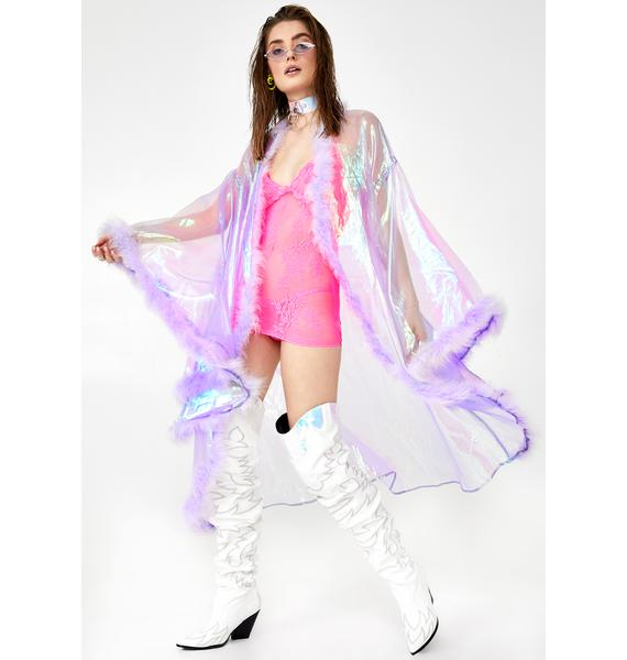 Sparkl Fairy Couture Lilac Fairytale Kimono