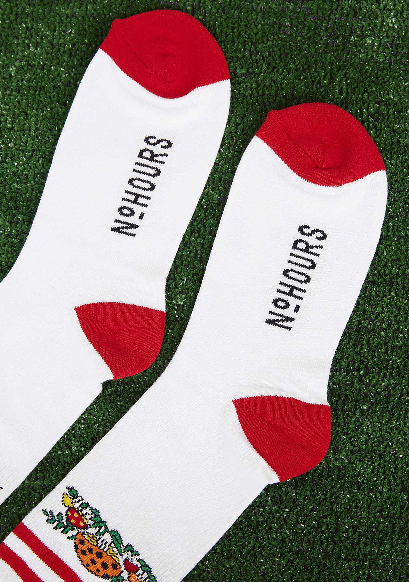 No Hours Shroomin' Socks