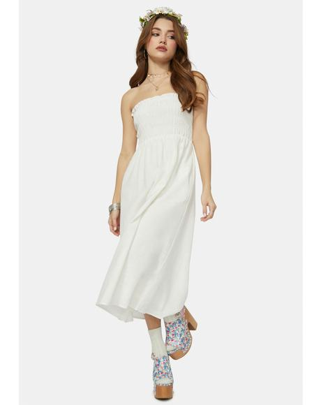 Stunned Silence Midi Dress