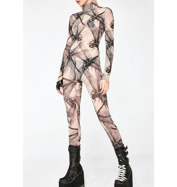Kiki Riki Dragoness Sheer Catsuit