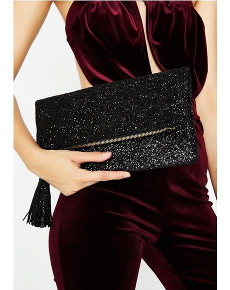 Watch It Sparkle Clutch