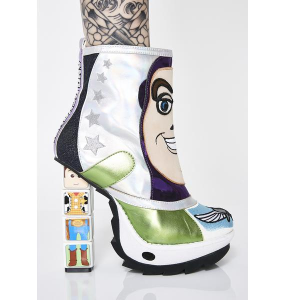 Irregular Choice x Toy Story Space Ranger Boots