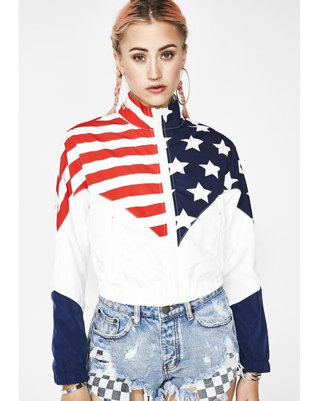 America's Most Wanted Windbreaker