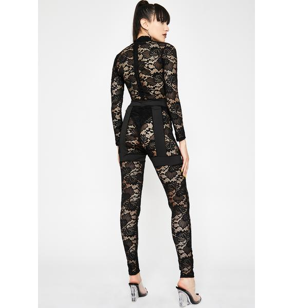 Fifth Avenue Fever Lace Jumpsuit