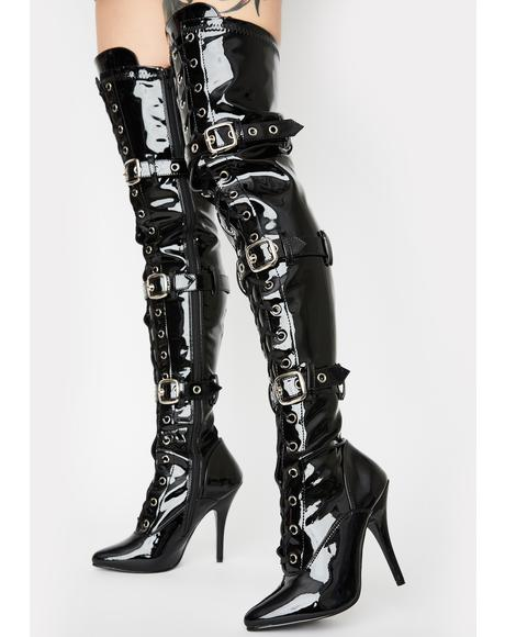 Seduce Thigh High Boots