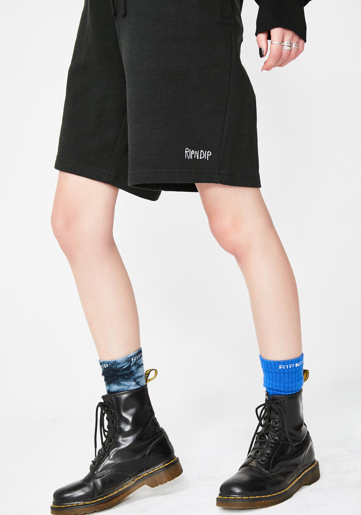 RIPNDIP Dark Peek A Nermal Sweat Shorts