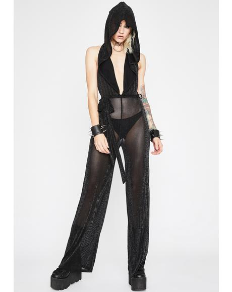 Haute Witch Hooded Jumpsuit