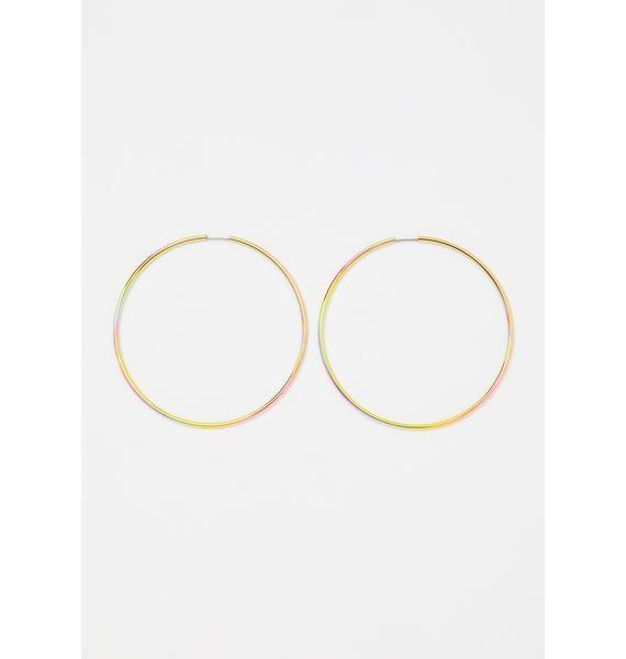 Euphoria Prism Iridescent Earrings