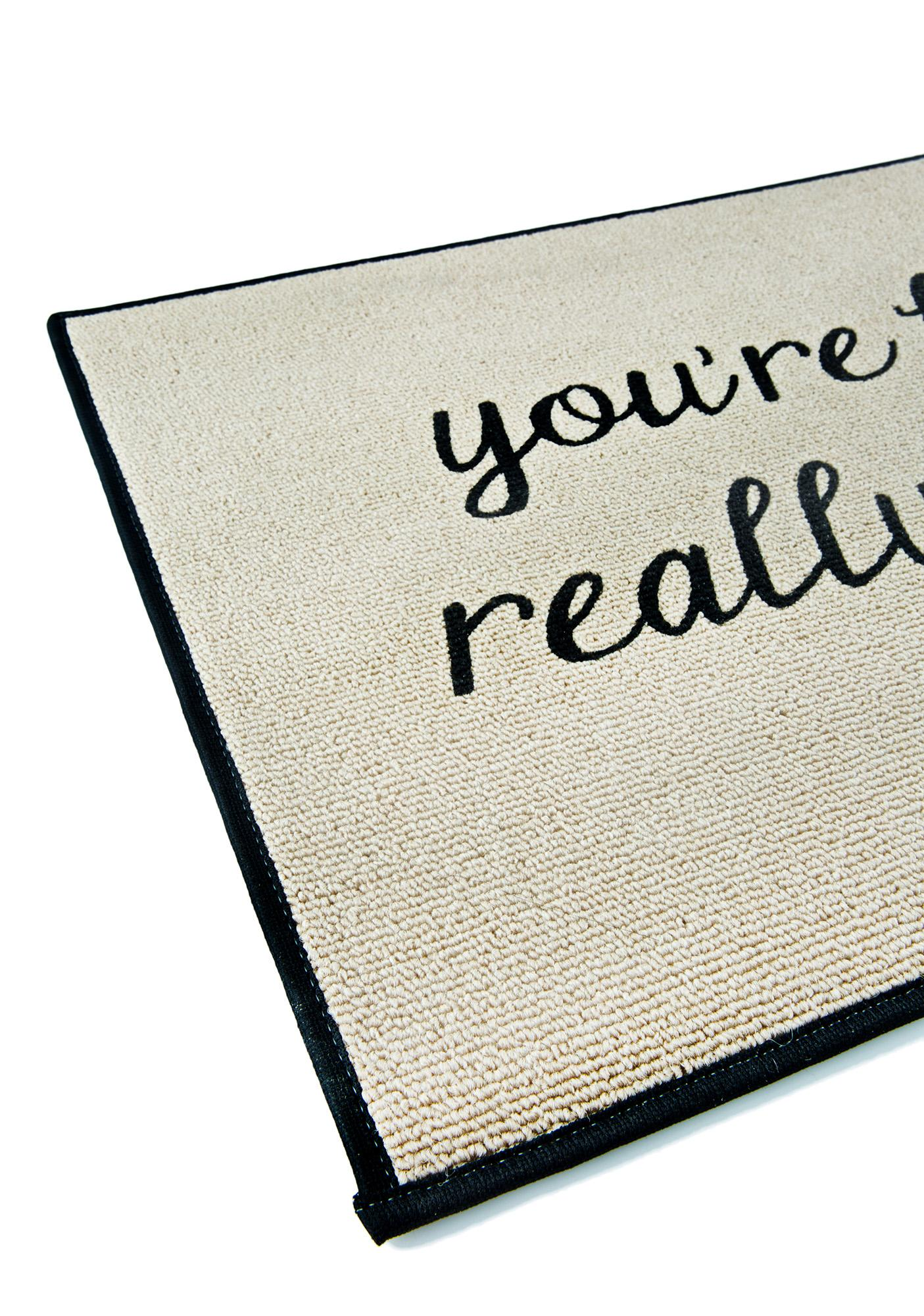 Like, Really Pretty Door Mat