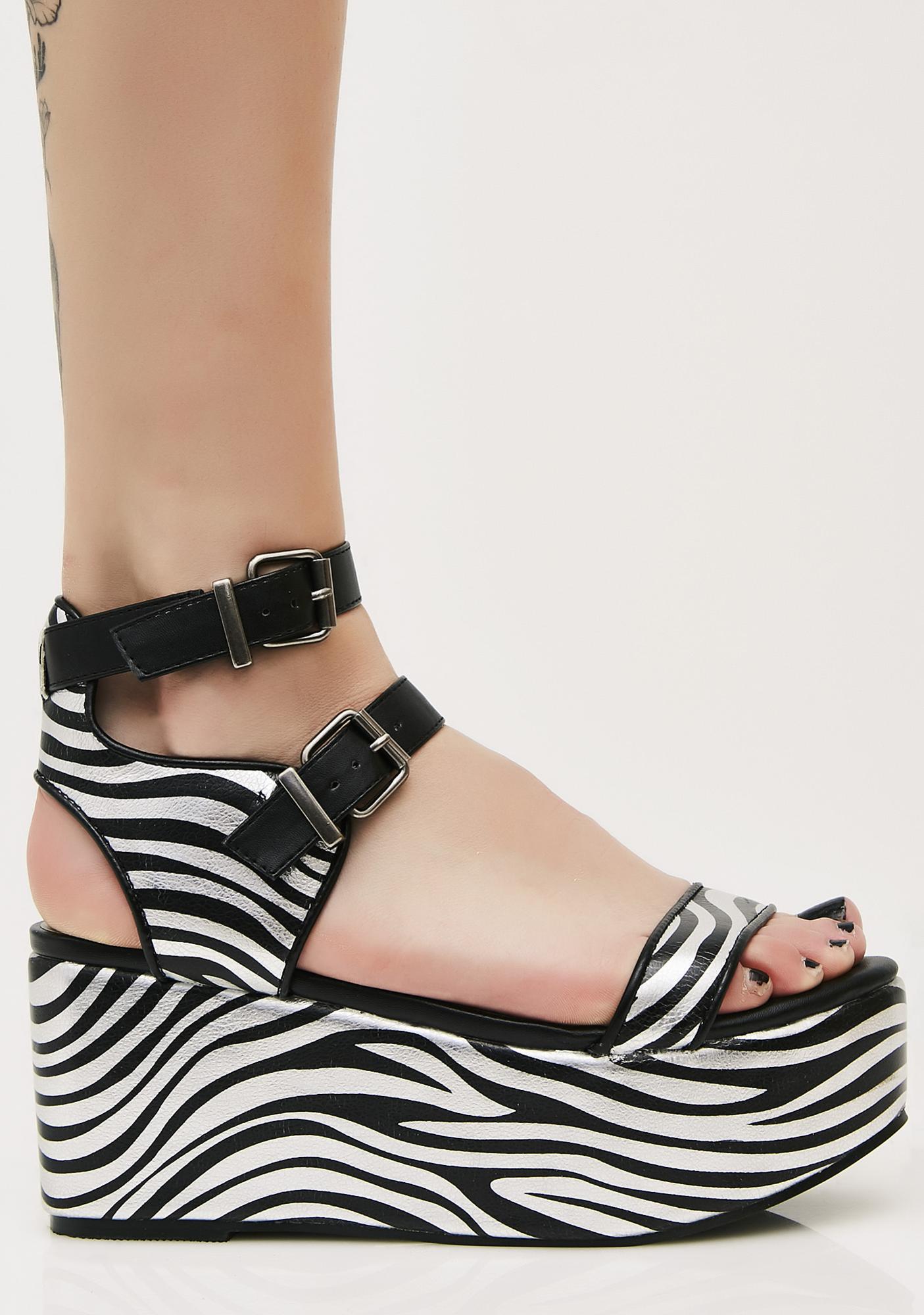 Wild Fever Platform Sandals