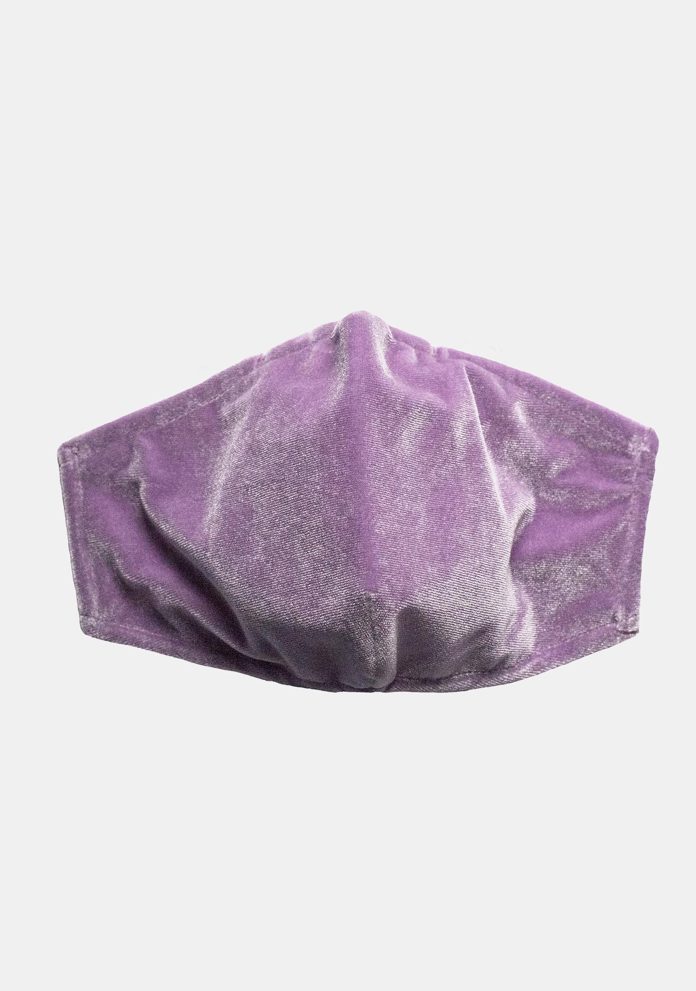 ESQAPE Lavender Velvet Face Mask