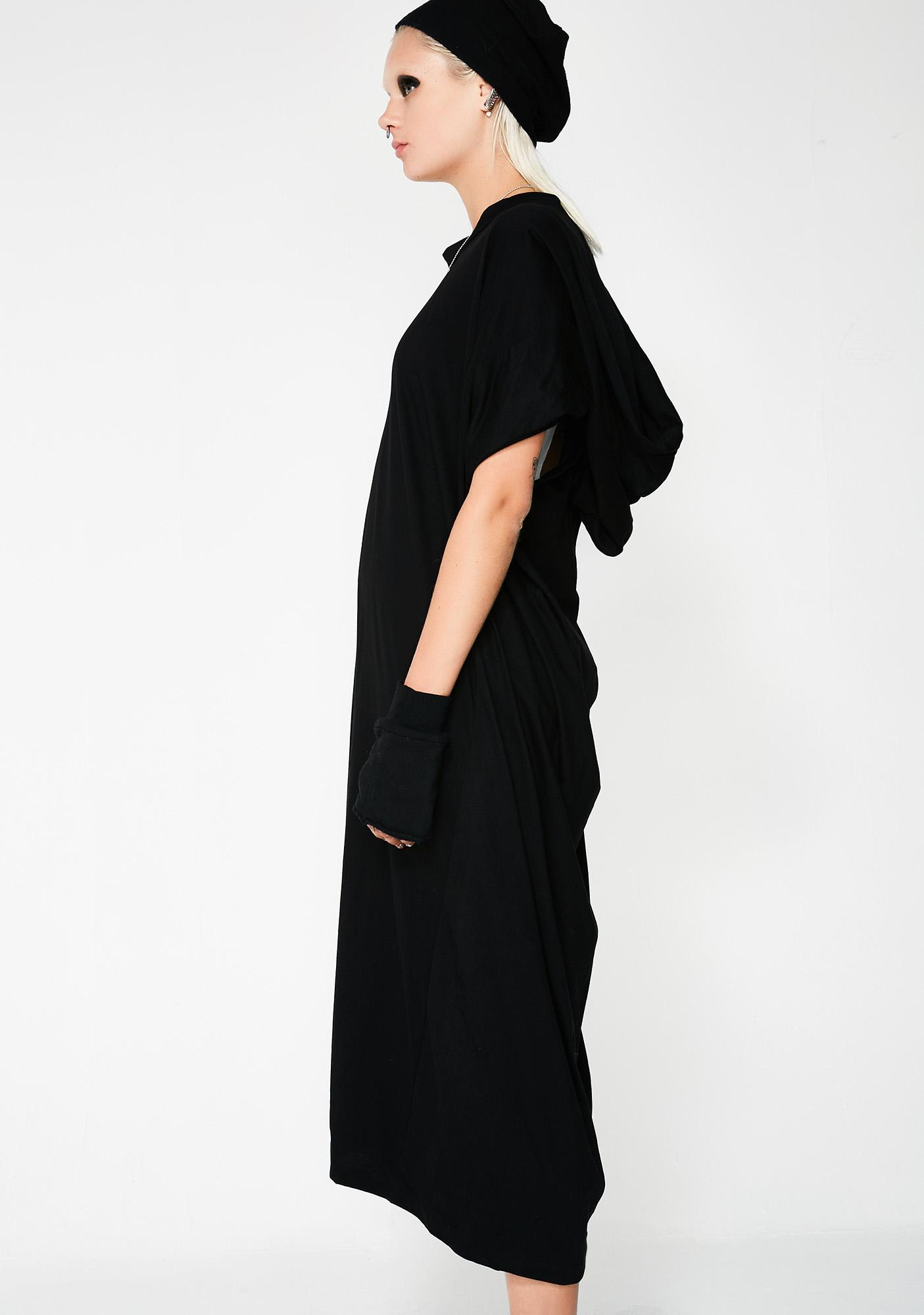 MNML Circo Hooded Maxi Dress