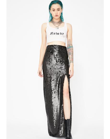 Midnight Forever Shinin' Sequin Skirt