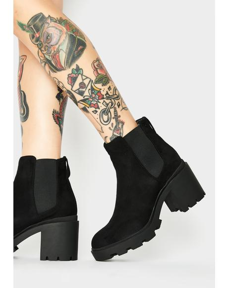 Empower Ankle Boots