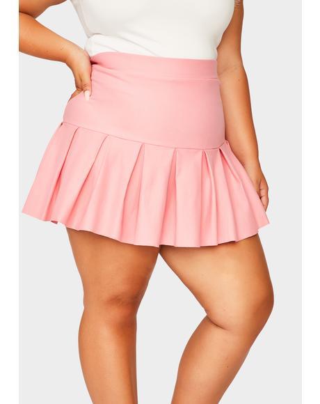 Sweet Miss Wicked Scholar Pleated Mini Skirt