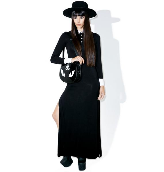 Killstar Cemetery Lane Maxi Dress