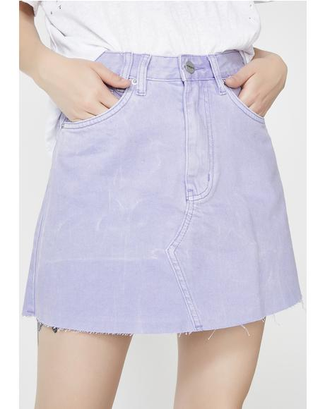Slater Purple Sasha A-Line Skirt