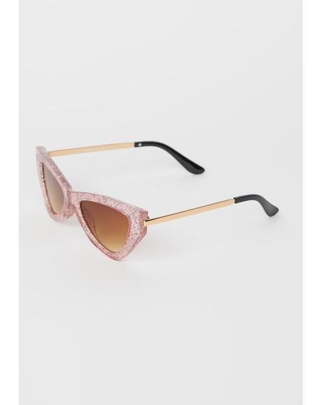 Vegas Baby Cat Eye Sunglasses